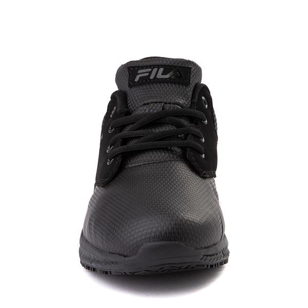 alternate view Mens Fila Memory Layers SR Work Shoe - BlackALT4