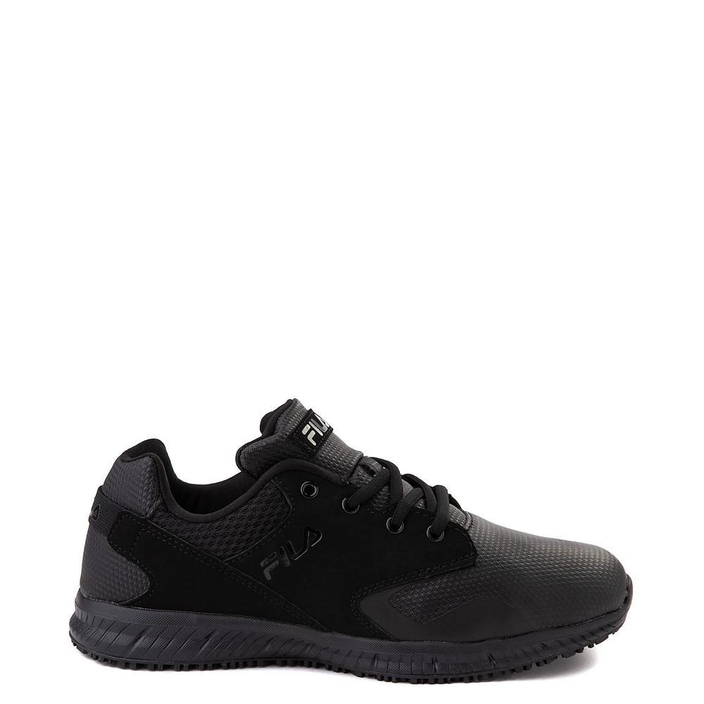 Mens Fila Memory Layers SR Work Shoe - Black