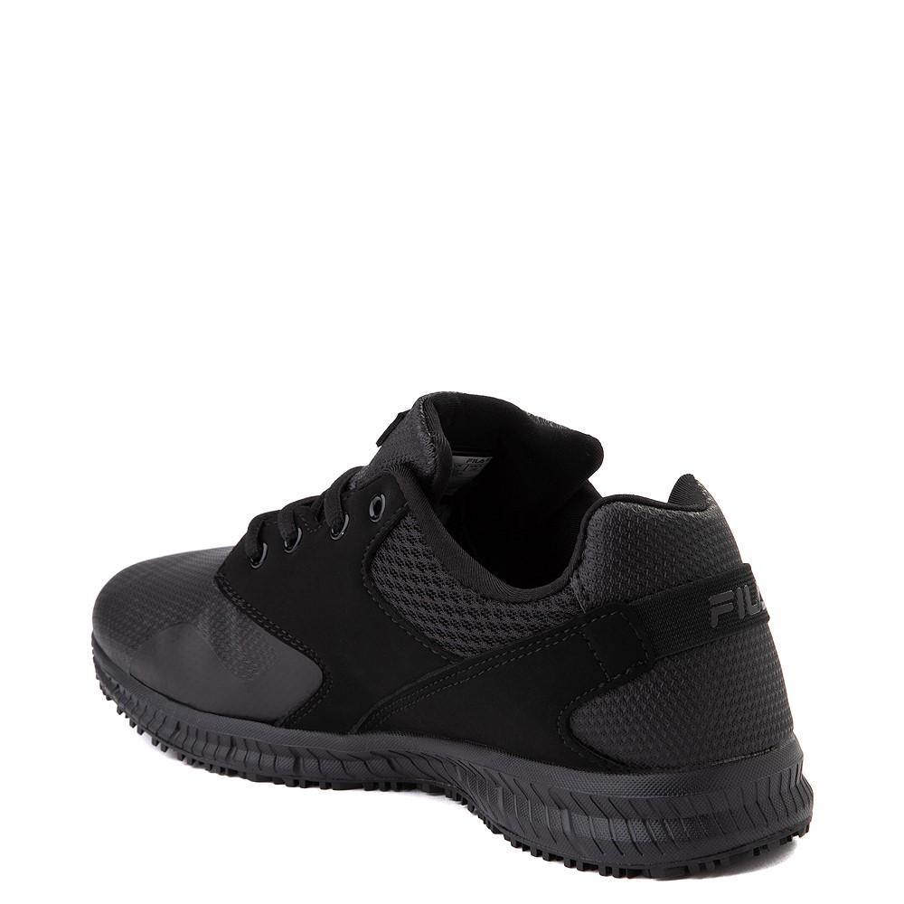 Mens Fila Memory Layers SR Work Shoe Black