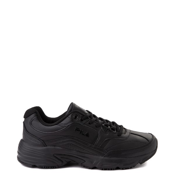 Main view of Mens Fila Memory Workshift SR Work Shoe - Black
