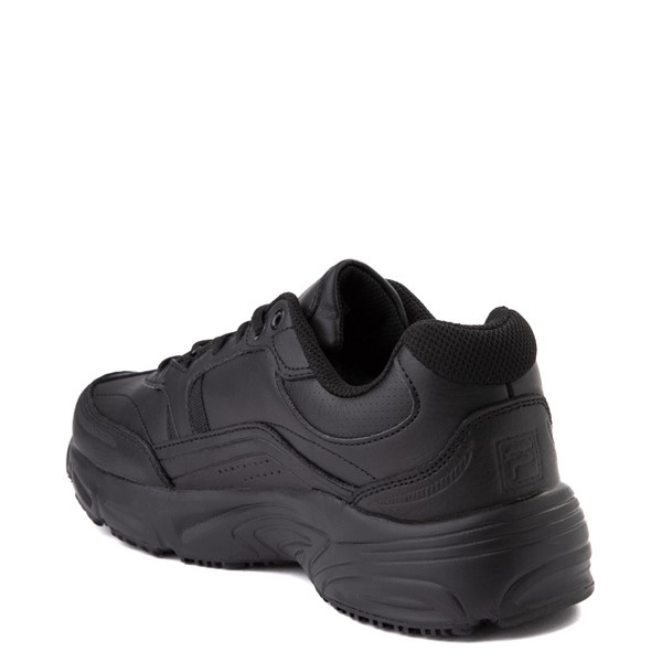 alternate view Mens Fila Memory Workshift SR Work Shoe - BlackALT1
