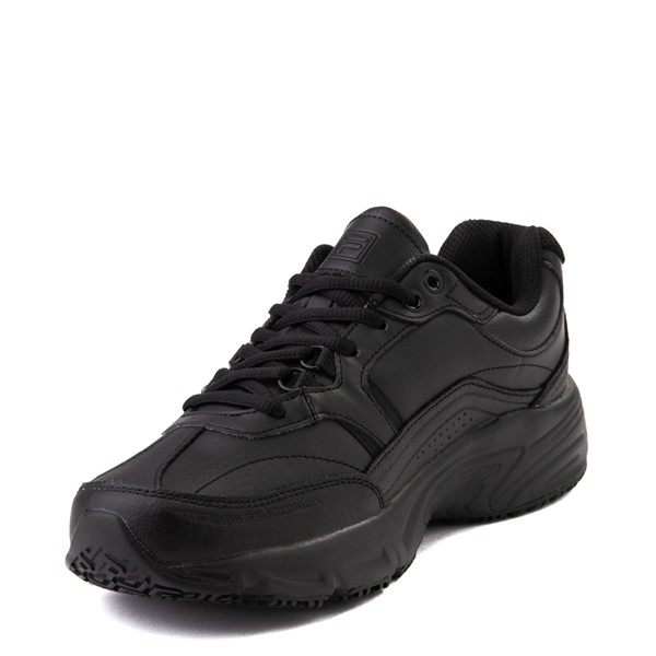 alternate view Mens Fila Memory Workshift SR Work Shoe - BlackALT2