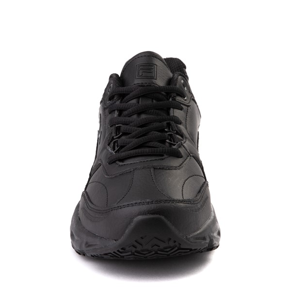 alternate view Mens Fila Memory Workshift SR Work Shoe - BlackALT4