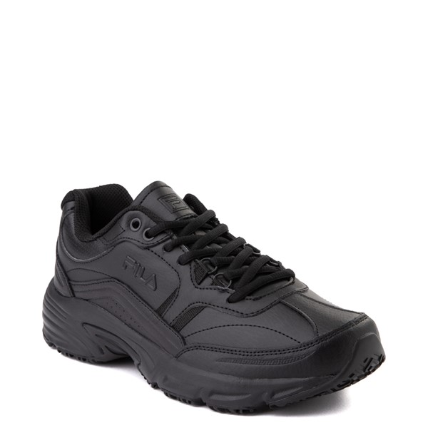 alternate view Mens Fila Memory Workshift SR Work Shoe - BlackALT5