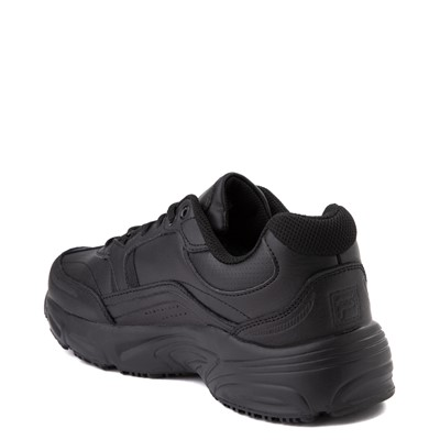 Alternate view of Mens Fila Memory Workshift SR Work Shoe - Black