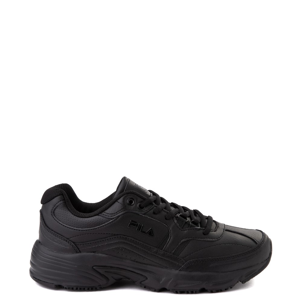 Mens Fila Memory Workshift SR Work Shoe - Black