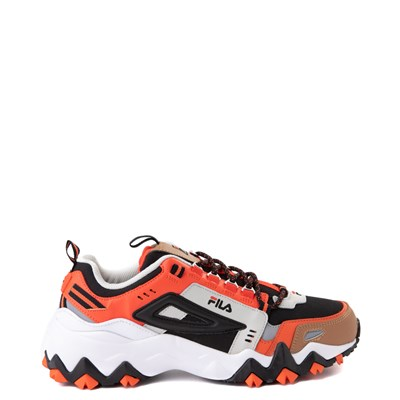 Main view of Mens Fila Oakmont TR Athletic Shoe - White / Orange / Black