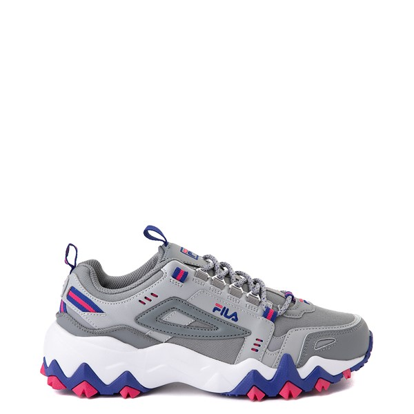 Womens Fila Oakmont TR Athletic Shoe - Gray / Blue / Pink