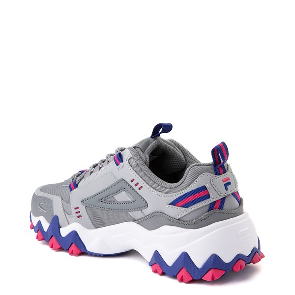 alternate view Womens Fila Oakmont TR Athletic Shoe - Gray / Blue / PinkALT1