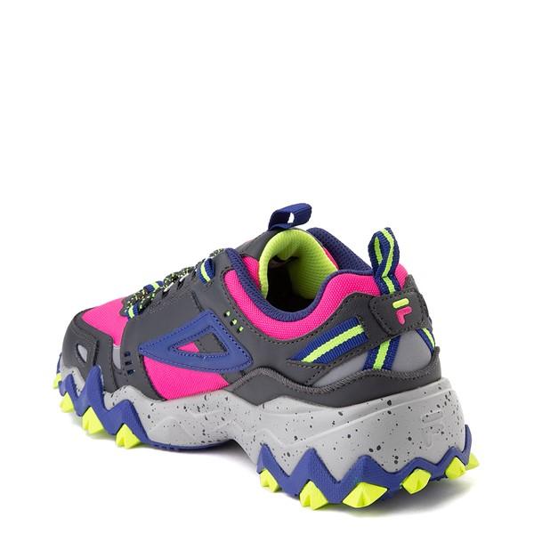 alternate view Womens Fila Oakmont TR Athletic Shoe - Pink / Gray / BlueALT1