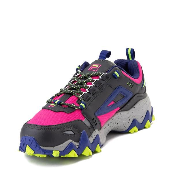 alternate view Womens Fila Oakmont TR Athletic Shoe - Pink / Gray / BlueALT2