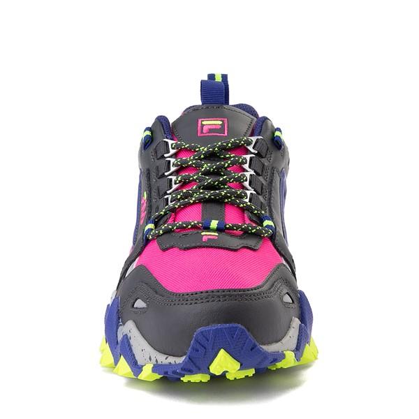 alternate view Womens Fila Oakmont TR Athletic Shoe - Pink / Gray / BlueALT4