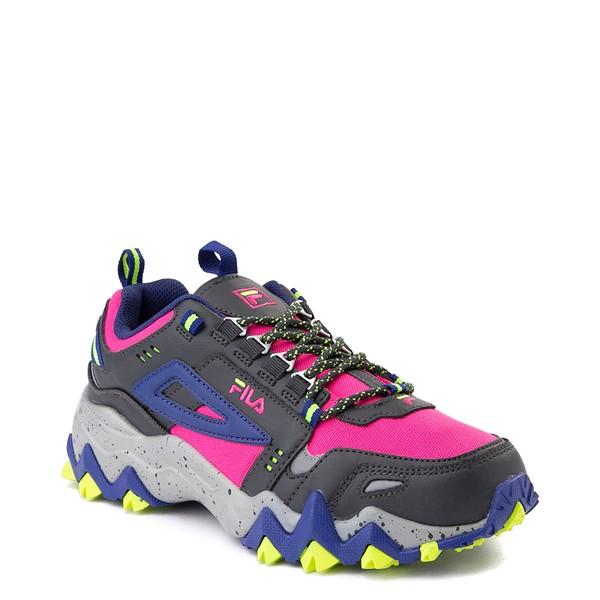 alternate view Womens Fila Oakmont TR Athletic Shoe - Pink / Gray / BlueALT5