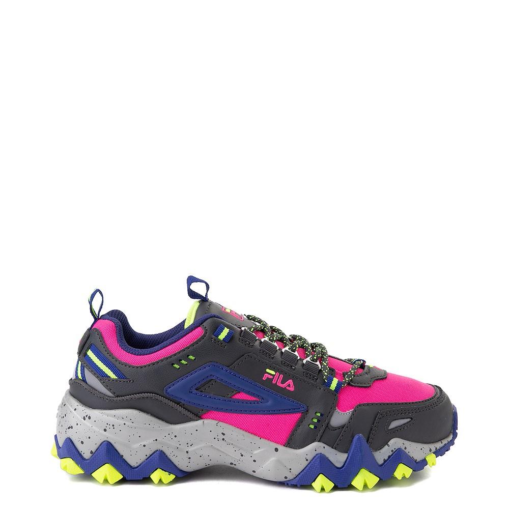 Womens Fila Oakmont TR Athletic Shoe - Pink / Gray / Blue