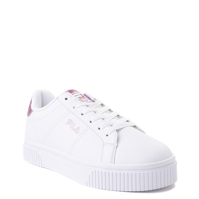 Alternate view of Womens Fila Panache Platform Athletic Shoe - White / Pink