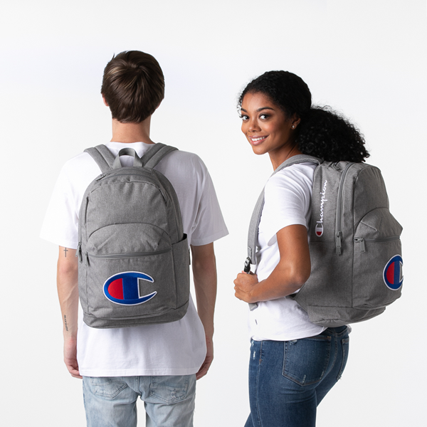 alternate view Champion Supercize 2.0 Backpack - Heather GrayALT1BADULT