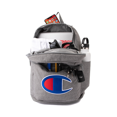 Alternate view of Champion Supercize 2.0 Backpack - Heather Gray