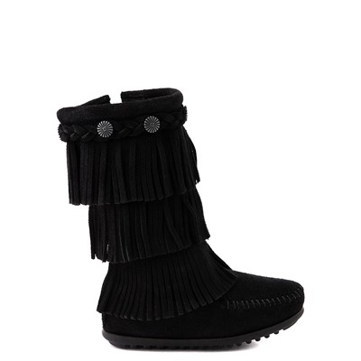 Main view of Minnetonka 3-Layer Fringe Boot - Toddler / Little Kid