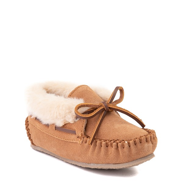 alternate view Minnetonka Charley Slipper - Toddler / Little Kid - CinnamonALT5