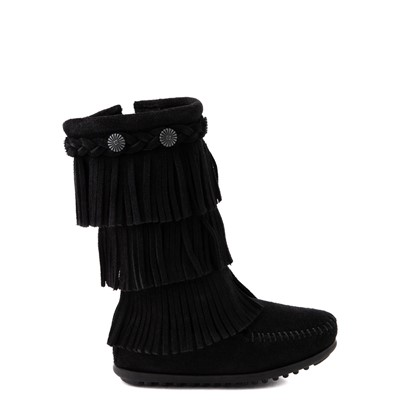 Main view of Minnetonka 3-Layer Fringe Boot - Little Kid / Big Kid
