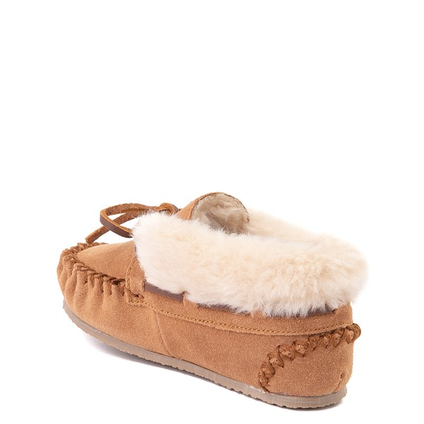 alternate view Minnetonka Charley Slipper - Little Kid / Big Kid - CinnamonALT1