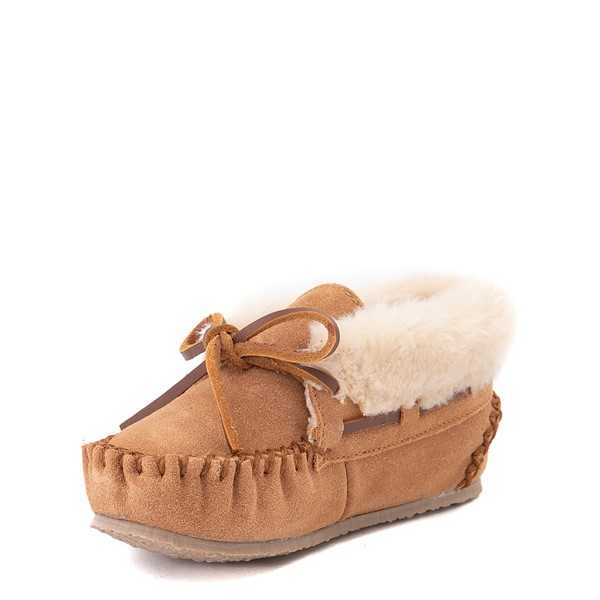 alternate view Minnetonka Charley Slipper - Little Kid / Big Kid - CinnamonALT2