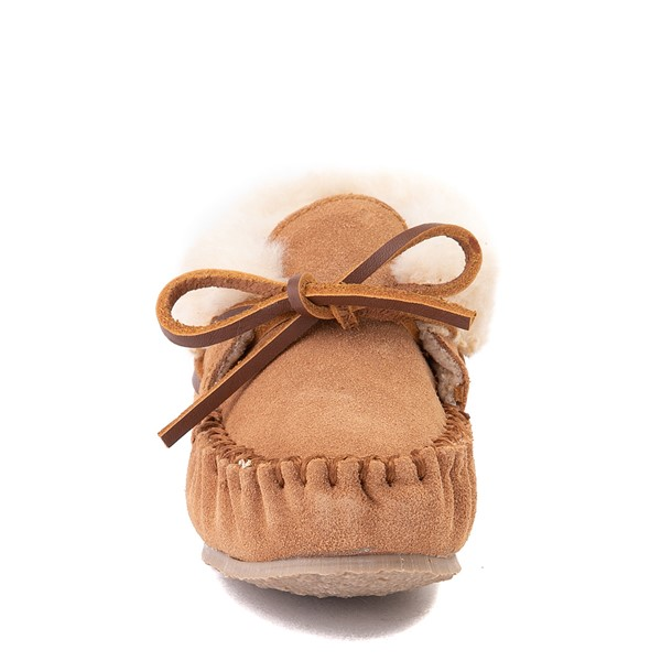 alternate view Minnetonka Charley Slipper - Little Kid / Big Kid - CinnamonALT4