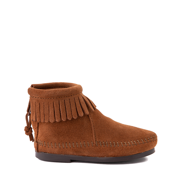Minnetonka Back Zip Boot - Toddler / Little Kid - Brown