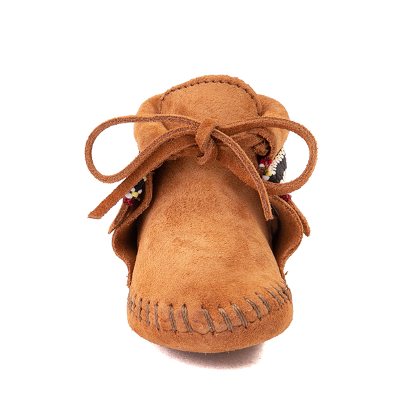 alternate view Minnetonka Braid Bootie - Baby / Toddler - BrownALT4