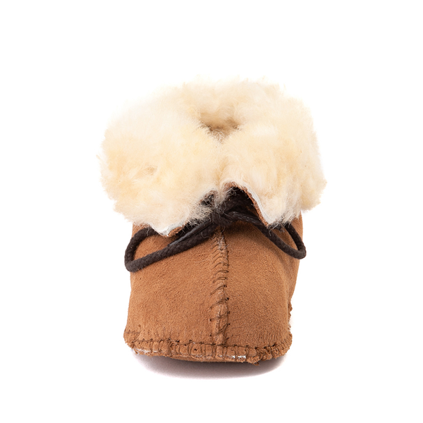 alternate view Minnetonka Sheepskin Bootie - Baby / Toddler - TanALT4