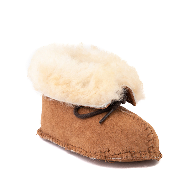 alternate view Minnetonka Sheepskin Bootie - Baby / Toddler - TanALT5