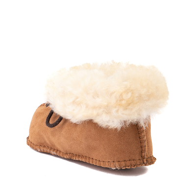 Alternate view of Minnetonka Sheepskin Bootie - Baby / Toddler - Tan