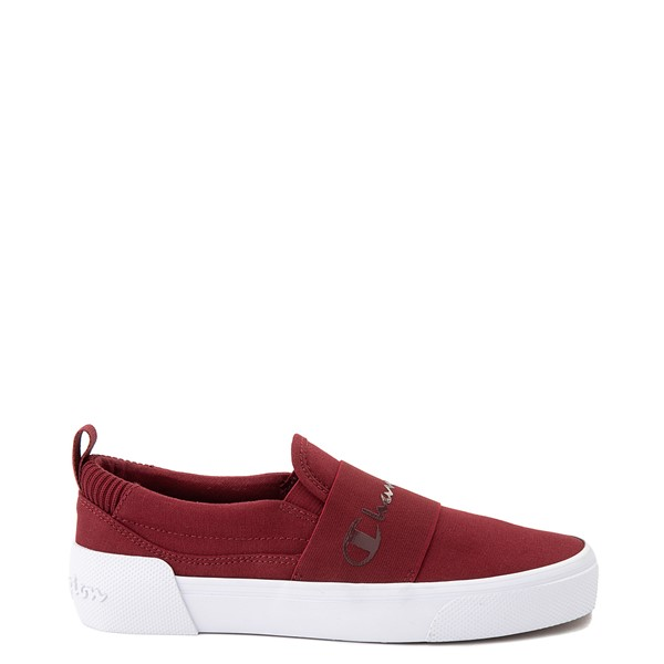 Womens Champion Rally Slip On Athletic Shoe - Sepia Red
