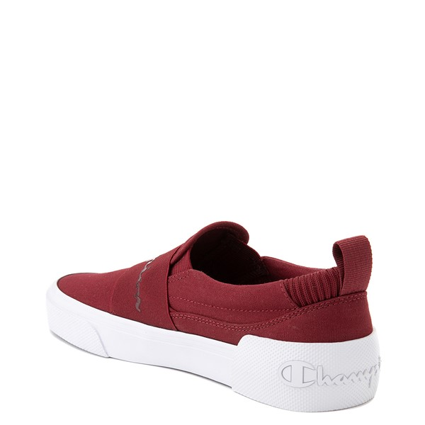 alternate view Womens Champion Rally Slip On Athletic Shoe - Sepia RedALT1