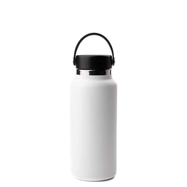 alternate view Hydro Flask® 32 oz Wide Mouth Water Bottle - WhiteALT1
