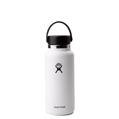 Main view of Hydro Flask® 32 oz Wide Mouth Water Bottle - White