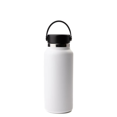Alternate view of Hydro Flask® 32 oz Wide Mouth Water Bottle - White