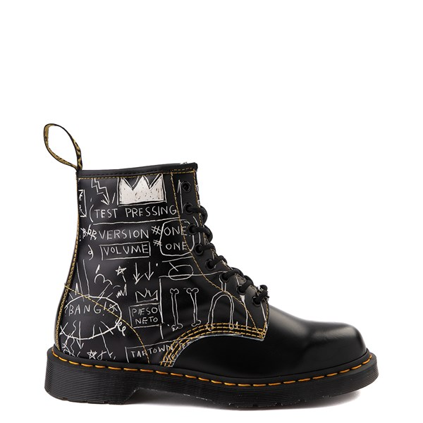 Main view of Dr. Martens x Basquiat 1460 Boot - Black