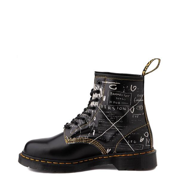alternate view Dr. Martens x Basquiat 1460 8-Eye Boot - BlackALT1