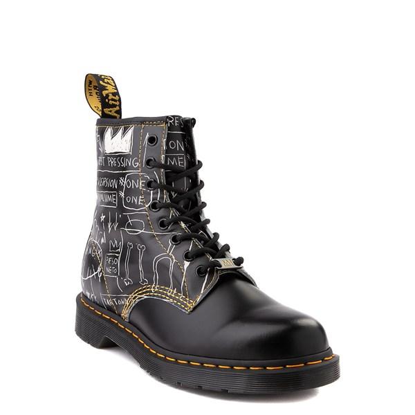 alternate view Dr. Martens x Basquiat 1460 8-Eye Boot - BlackALT1B