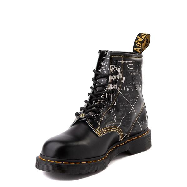 alternate view Dr. Martens x Basquiat 1460 8-Eye Boot - BlackALT3
