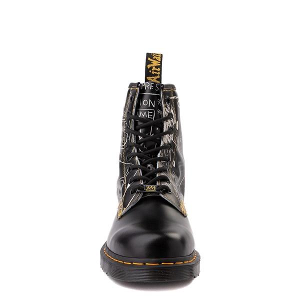 alternate view Dr. Martens x Basquiat 1460 8-Eye Boot - BlackALT4