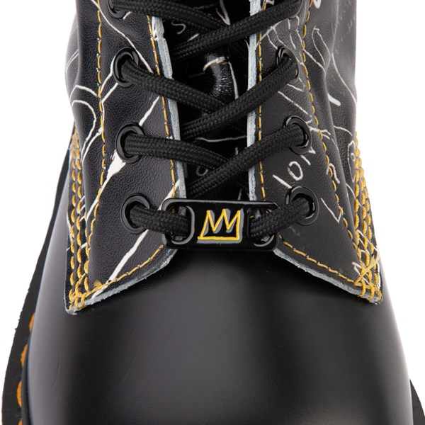 alternate view Dr. Martens x Basquiat 1460 8-Eye Boot - BlackALT6