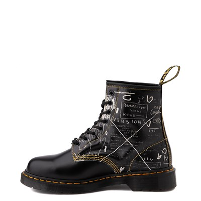 Alternate view of Dr. Martens x Basquiat 1460 Boot - Black