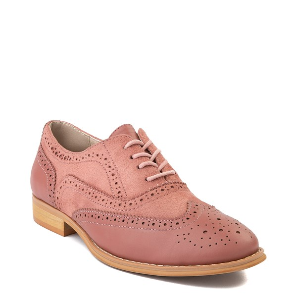 alternate view Womens Wanted Babe Oxford Casual Shoe - RoseALT1