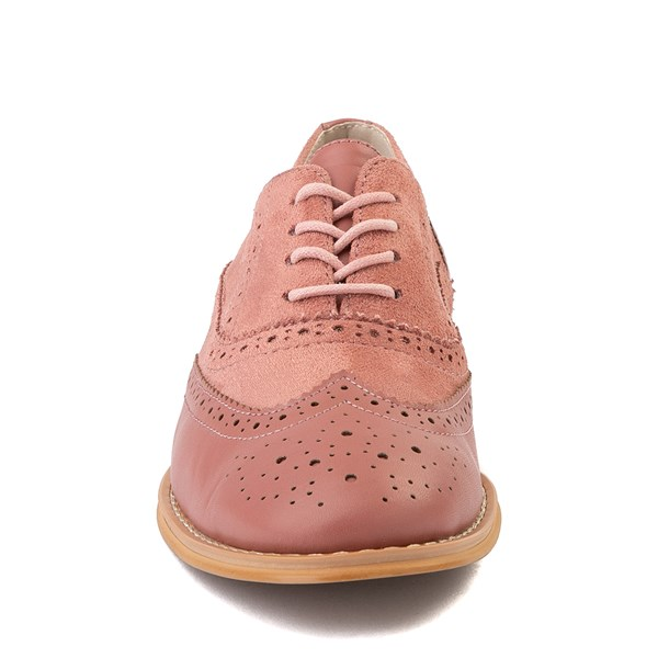 alternate view Womens Wanted Babe Oxford Casual Shoe - RoseALT4