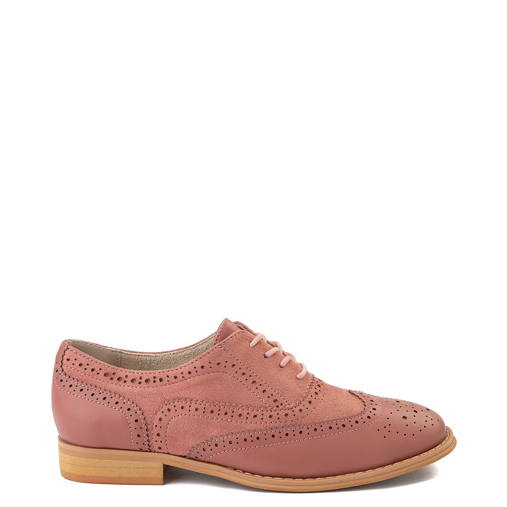 Womens Wanted Babe Oxford Casual Shoe - Rose