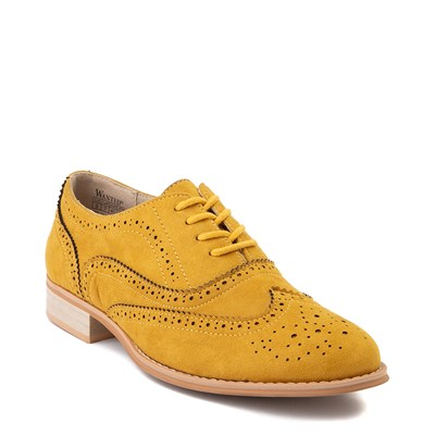 Alternate view of Womens Wanted Babe Oxford Casual Shoe - Mustard