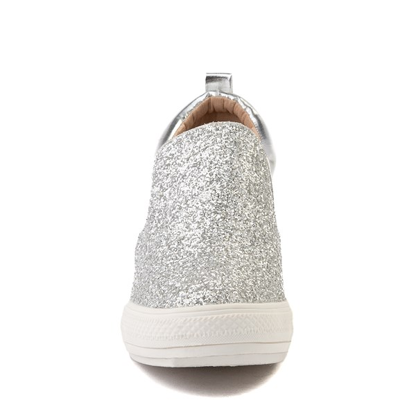 alternate view Womens Wanted Illuming Slip On Casual Shoe - SilverALT4