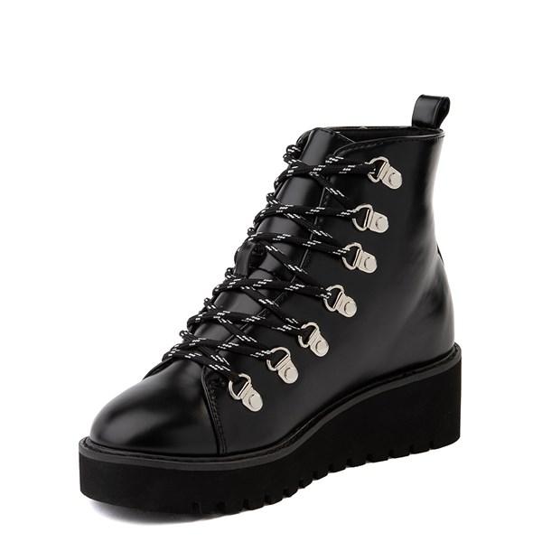 alternate view Womens Wanted Hunter Platform Boot - BlackALT3